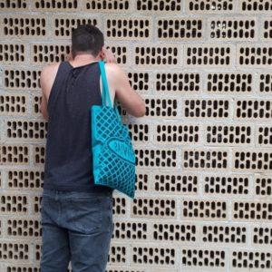 Bosses de tela amb estampació urbana The Vandalettes