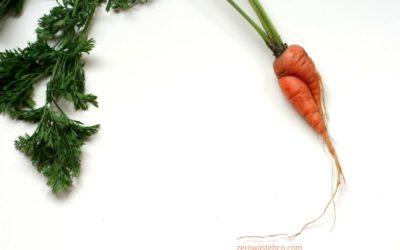 Recepta de Tximitxurri de fulles de pastanaga